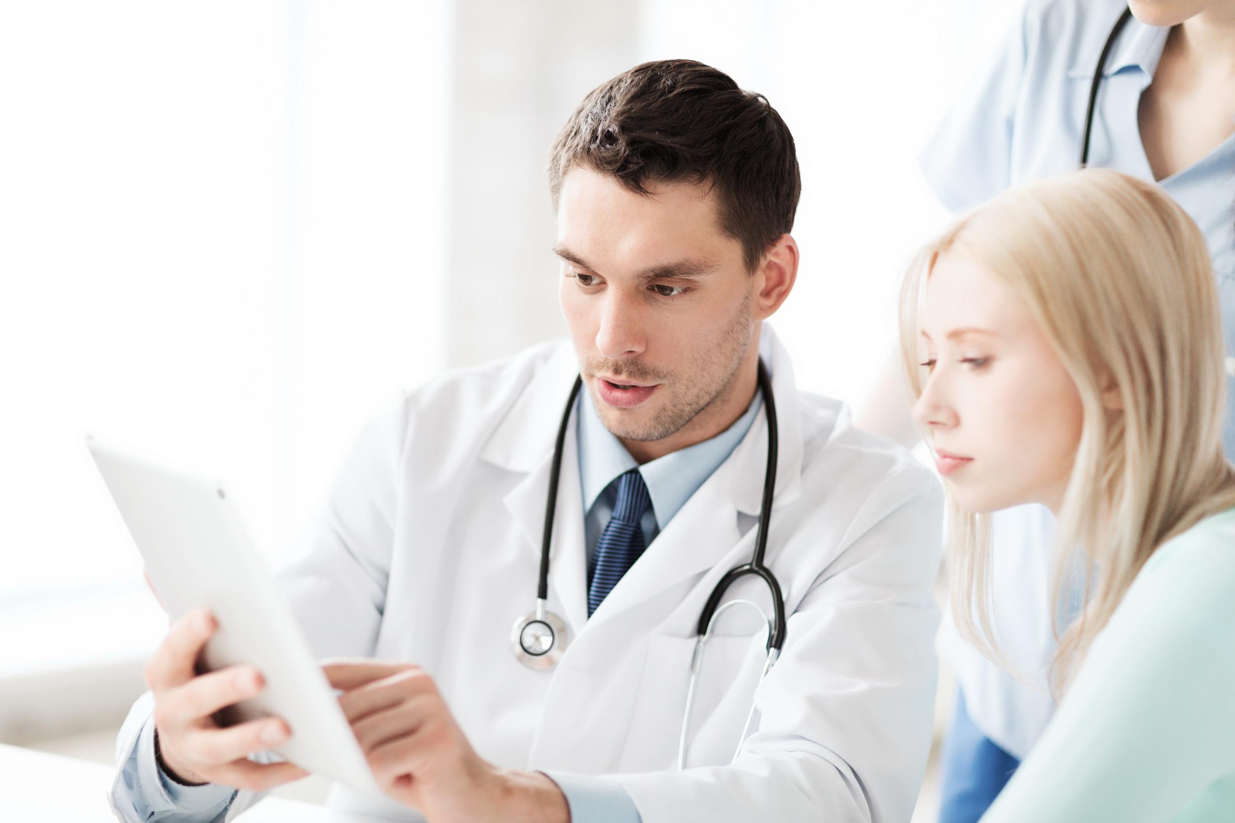 Фото женщина на осмотре у врача 17 фотография